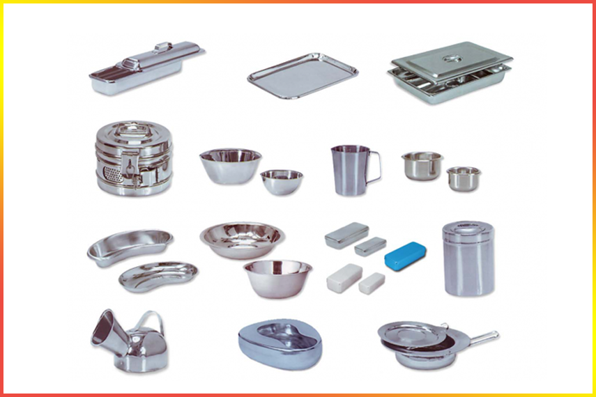 hospital hollowware equipment manufacturer and  supplier in delhi india
