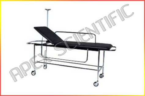 patient-trolleytwith-fixed-cushioned-2-section-top-supplier-manufacturer-in-delhi-india